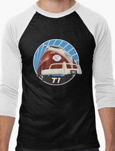 VW Type 2 Transporter T1 red Men's Baseball ¾ T-Shirt