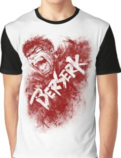 Berserk Blood Art Graphic T-Shirt