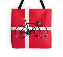 Bike Flag Denmark (Big - Highlight) Tote Bag