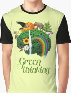 Green Thinking - love of Nature | Pensamiento en verde - amor por la Naturaleza Graphic T-Shirt