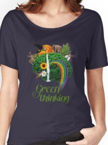 Green Thinking - love of Nature | Pensamiento en verde - amor por la Naturaleza Women's Relaxed Fit T-Shirt