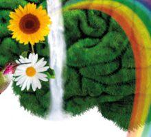 Green Thinking - love of Nature | Pensamiento en verde - amor por la Naturaleza Sticker