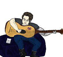 Musician Bucky by Rachael Henderson