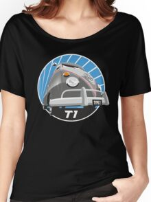 VW Type 2 Transporter T1 grey Women's Relaxed Fit T-Shirt