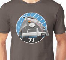 VW Type 2 Transporter T1 grey Unisex T-Shirt