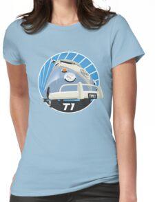 VW Type 2 Transporter T1 light blue Womens Fitted T-Shirt