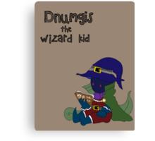 Dnumgis the Wizard Kid Canvas Print