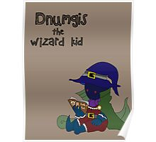 Dnumgis the Wizard Kid Poster