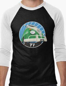 VW Type 2 Transporter T1 bright green Men's Baseball ¾ T-Shirt