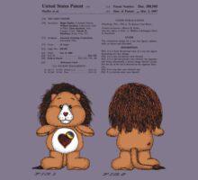 Brave Heart Lion Patent Kids Tee