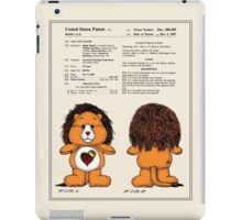Brave Heart Lion Patent iPad Case/Skin