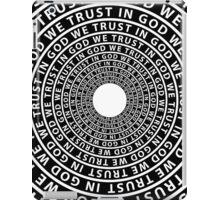 In God We Trust iPad Case/Skin