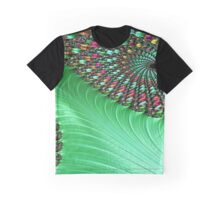 Carnival Green Graphic T-Shirt