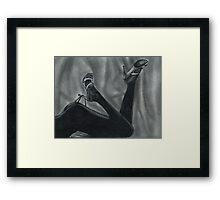 Hang on Framed Print