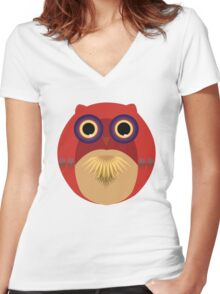 Lil Hoot!  Women's Fitted V-Neck T-Shirt