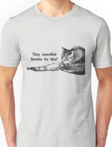 Angry TV Cat Unisex T-Shirt