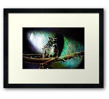 Prince of the Night Sky Framed Print