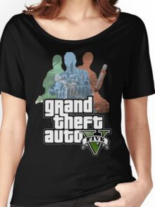 Grand Theft Auto V - Minimalistic Women's Relaxed Fit T-Shirt