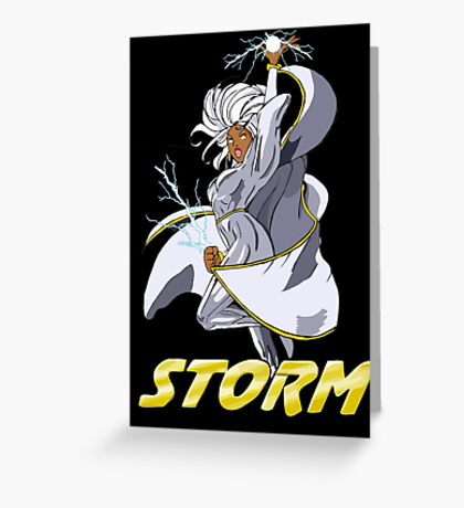 Storm - Classic Greeting Card