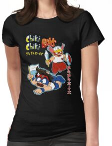 Chiki Chiki Boys Are GO! Womens Fitted T-Shirt