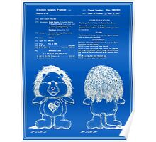 Brave Heart Lion Patent - Blueprint Poster