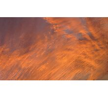 Sunset Cloud background series 3 Photographic Print