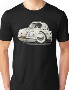 Herbie the Love Bug caricature Unisex T-Shirt