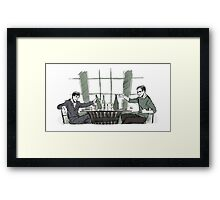 To Friendship Framed Print