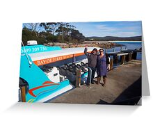 Bay of Fires Eco Tours Greeting Card