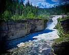 Trout River and Whittaker Falls by Yukondick