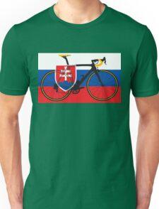 Bike Flag Slovakia (Big - Highlight) Unisex T-Shirt