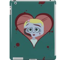 Zombie Girl and Brains iPad Case/Skin