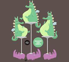 Dragons Ride Rhinos Unisex T-Shirt