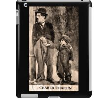 Charlie Chaplin and The Kid iPad Case/Skin