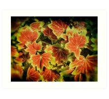 Leafy Cover Art Print