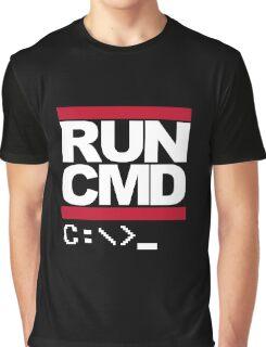 Run CMD Graphic T-Shirt