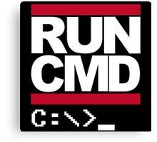 Run CMD Canvas Print