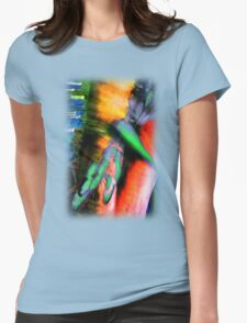 Psychedelic Dragonfly  Womens Fitted T-Shirt