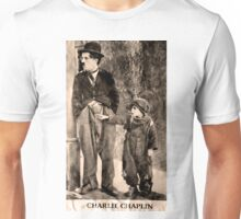 Charlie Chaplin and The Kid Unisex T-Shirt