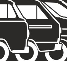 VW Transporter evolution Sticker