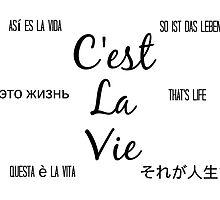 C'est la vie by elysianjay