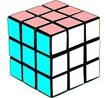 Transgender Rubik's Cube Photographic Print