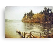 Lakeside Sojourn Canvas Print