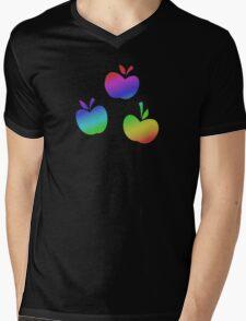MLP - Cutie Mark Rainbow Special - Applejack V3 Mens V-Neck T-Shirt