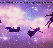 peter pan silhouettes by Angelr0se