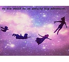 peter pan silhouettes Photographic Print