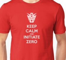 Keep Calm and Initiate ZERO Unisex T-Shirt