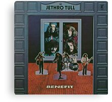 JETHRO TULL BENEFIT Canvas Print
