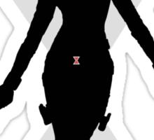 Black Widow T-shirt Sticker