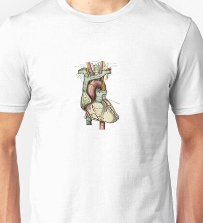 Graphic Coloured Heart Unisex T-Shirt